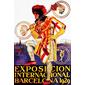 QUADRO RETRÔ EXPOSICION INTERNACIONAL BARCELONA 1929