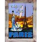 QUADRO VINTAGE PARIS CITY LIGHT