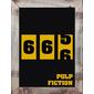 QUADRO MINIMALISTA FILME PULP FICTION 666