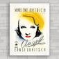 QUADRO VINTAGE FILME ANGEL 1937 - MARLENE DIETRICH