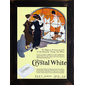 QUADRO RETRÔ PEET'S CRYSTAL WHITE SOAP 1918
