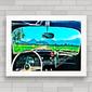 QUADRO VW FUSCA WINDOW