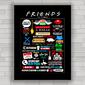 Quadro decorativo série Friends