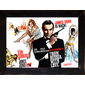 QUADRO RETRÔ FILME 007 JAMES BOND 1963