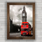 QUADRO DECORATIVO LONDON BUS
