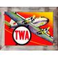 QUADRO AVIAÇÃO TWA DC-3