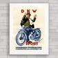 QUADRO VINTAGE MOTO DKW SPORT