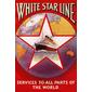 QUADRO NAVEGAÇÃO WHITE STAR LINE 1926