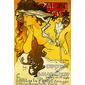 QUADRO EXPOSITION SALON DES CENTS 1896 MUCHA