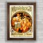 QUADRO VINTAGE HEIDSIECK 1901