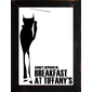 QUADRO FILME BREAKFAST AT TIFFANY'S MINIMALIST