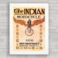 QUADRO MOTO INDIAN 1908