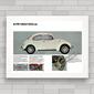 QUADRO VW FUSCA SEDAN 1300