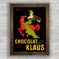 QUADRO VINTAGE CHOCOLAT KLAUS PARIS