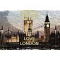 QUADRO DECORATIVO KEEP CALM LOVE LONDON