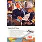 QUADRO AGÊNCIA TWA FAVORITE 1951