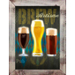 QUADRO DECORATIVO PARA BAR ARTISAN BREW