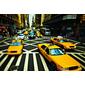 QUADRO DE PAREDE NEW YORK YELLOW CABS