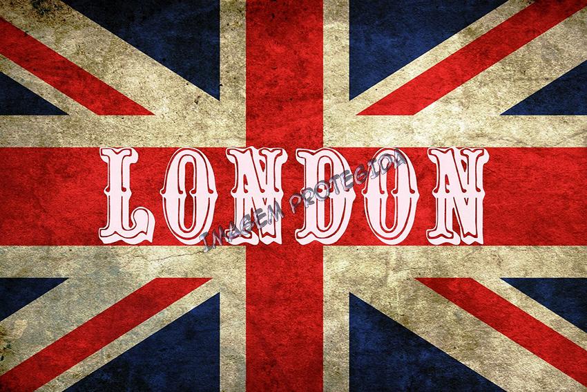 QUADRO VINTAGE LONDON FLAG