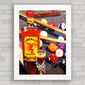 QUADRO DECORATIVO PARA BAR FIREBALL WHISKY