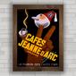 QUADRO CAFES JEANNE DARC