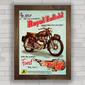 QUADRO MOTO ROYAL ENFIELD METEOR 700cc 1954