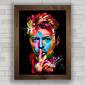 Quadro decorativo David Bowie