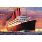 QUADRO DECORATIVO NAVIO RMS CARONIA