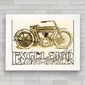 QUADRO MOTO EXCELSIOR AUTO CYCLE 1910