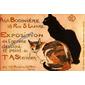 QUADRO VINTAGE EXPOSITION DE LOUVRE 1894 PARIS