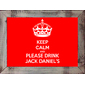 QUADRO JACK DANIELS KEEP CALM