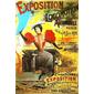 QUADRO VINTAGE EXPOSITION DE LOCOMOTION 1895 PARIS