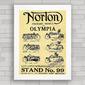 QUADRO MOTO NORTON 1921