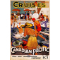 QUADRO RETRÔ CANADIAN PACIFIC CRUISES 2