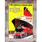 QUADRO DECORATIVO LMS EXPRESS & CUNARD LINES