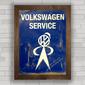 QUADRO VW SERVICE BLUE