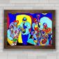 QUADRO PARA SALA MUSICIANS ART