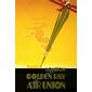 QUADRO RETRÔ GOLDEN RAY AIR UNION 1920