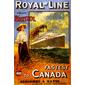 QUADRO DECORATIVO ROYAL LINE CANADÁ