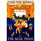 QUADRO DE PAREDE BLUE TRAIN RIVIERA