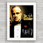 QUADRO DECORATIVO FILME GODFATHER - PODEROSO CHEFÃO