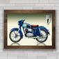 QUADRO MOTO DKW RT175 1954