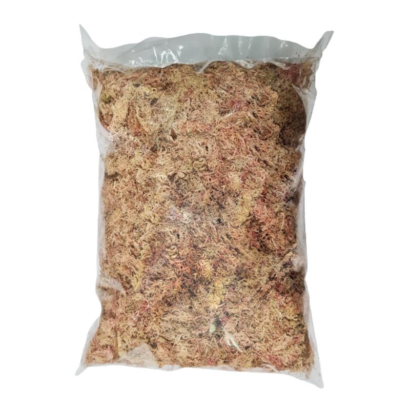 Musgo seco Sphagnum rosa 100 gramas