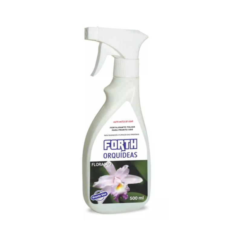 Fertilizante Líquido Pronto Uso Forth Para Orquídeas Floração