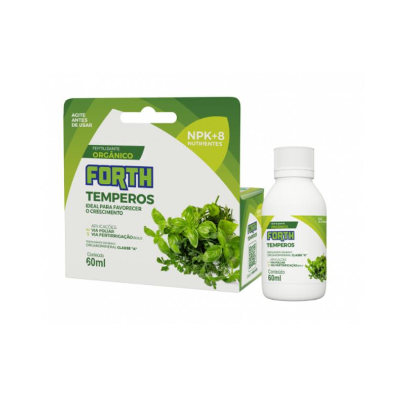 Fertilizante Forth Temperos 60 ml concentrado