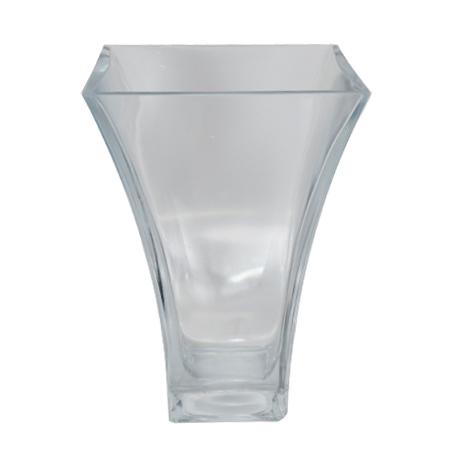 Vaso de Vidro Flora 80149 <BR> 14x14x20 cm