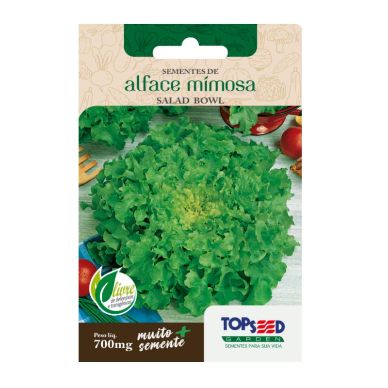 Sementes de Alface Mimosa 700mg