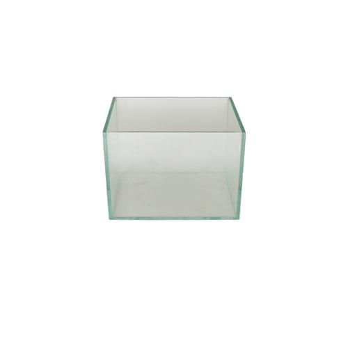 Cachepô de Vidro <BR> 15x15x10 cm