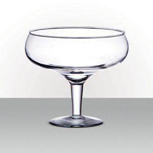 Vaso de Vidro Taça<br>27 x 25 cm
