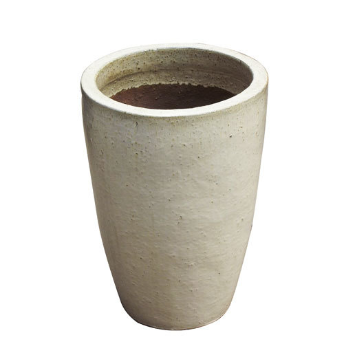 Vaso Vietnamita Redondo <BR> 53x67 cm- Sand.